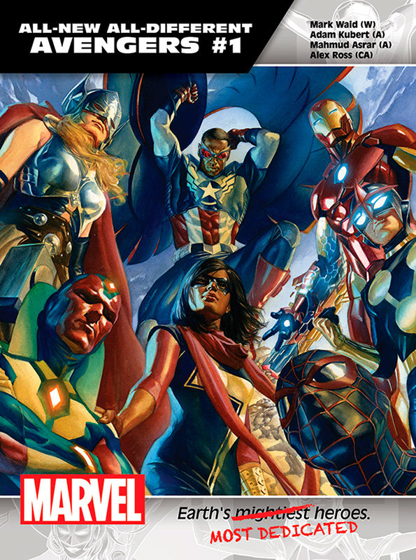 All-New All Different Avengers # 1