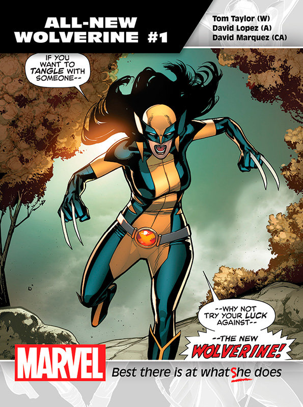 All-New Wolverine # 1