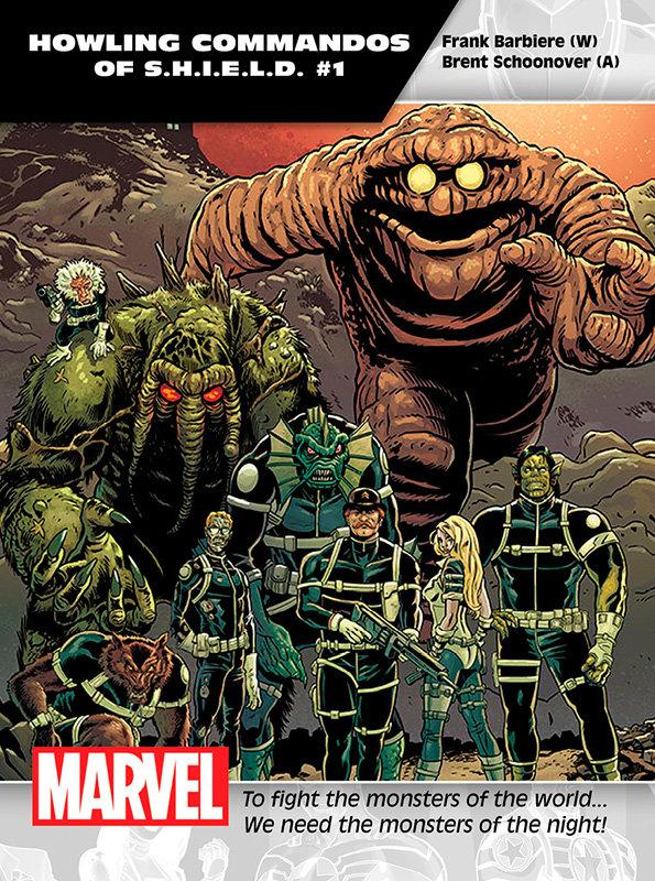 Howling Commandos of S.H.I.E.L.D. # 1