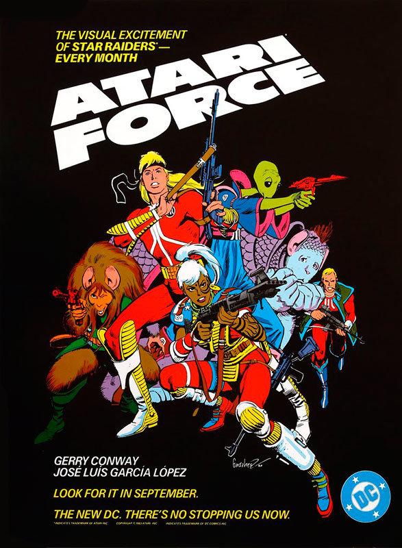 Resultado de imagem para Esquadrao Atari quadrinhos