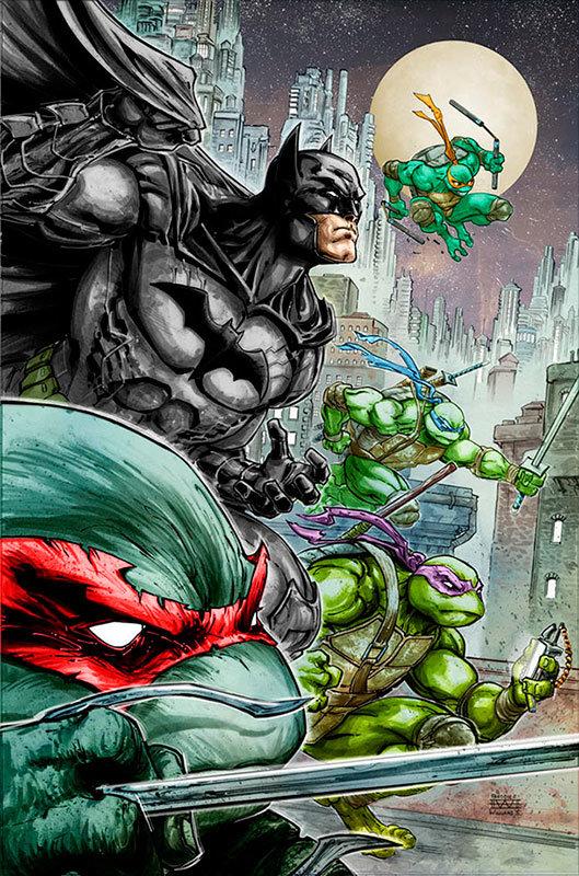 Batman / Teenage Mutant Ninja Turtles # 1