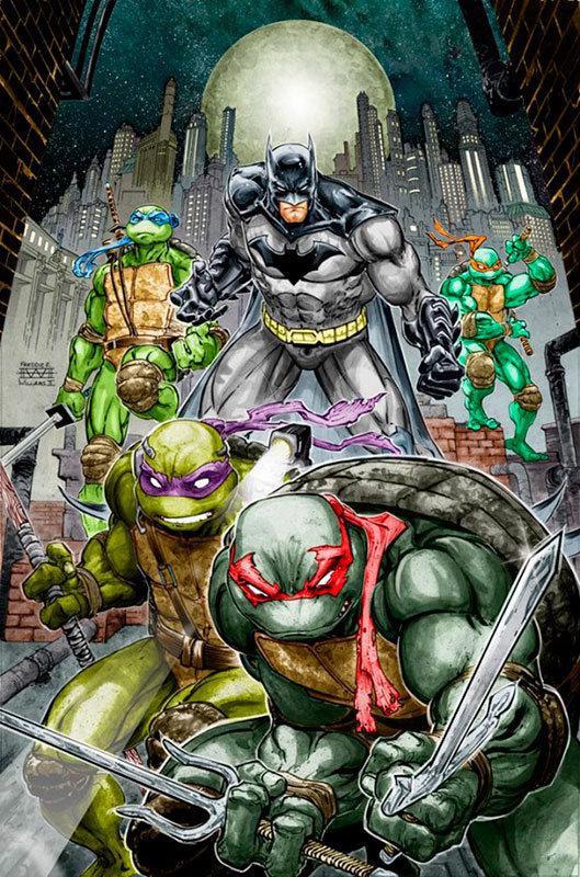 Batman / Teenage Mutant Ninja Turtles # 2