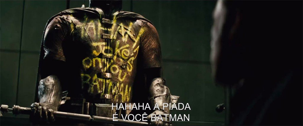 Uniforme do Robin em Batman vs. Superman