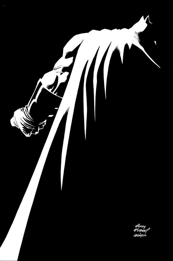 Arte de Andy Kubert para The Dark Knight III - The Master Race