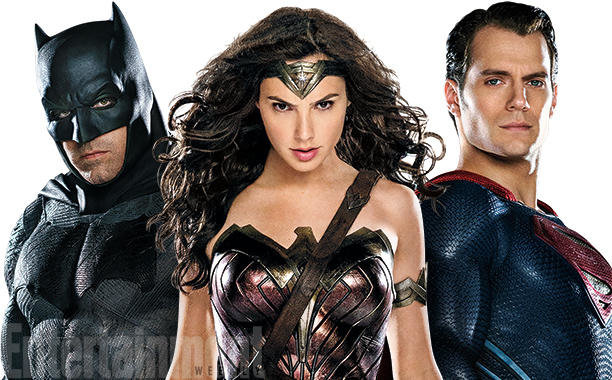 Batman, Mulher-Maravilha e Superman