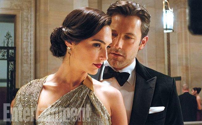 Gal Gadot (Mulher-Maravilha) e Ben Affleck (Batman)