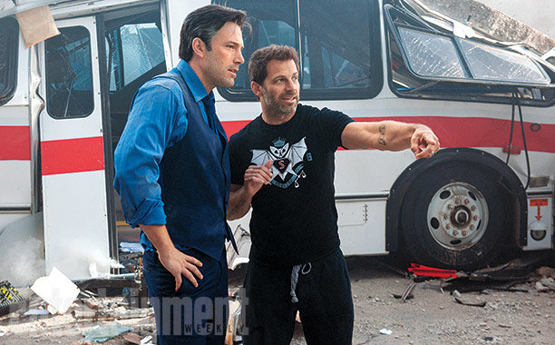 Ben Aflleck e Zack Snyder