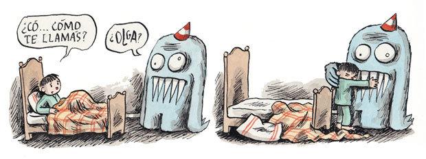Olga, por Liniers