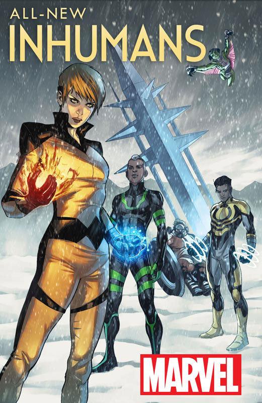 All-New Inhumans # 1