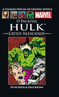 A Coleção Oficial de Graphic Novels Marvel # 51 - O Incrível Hulk - Gritos Silenciosos