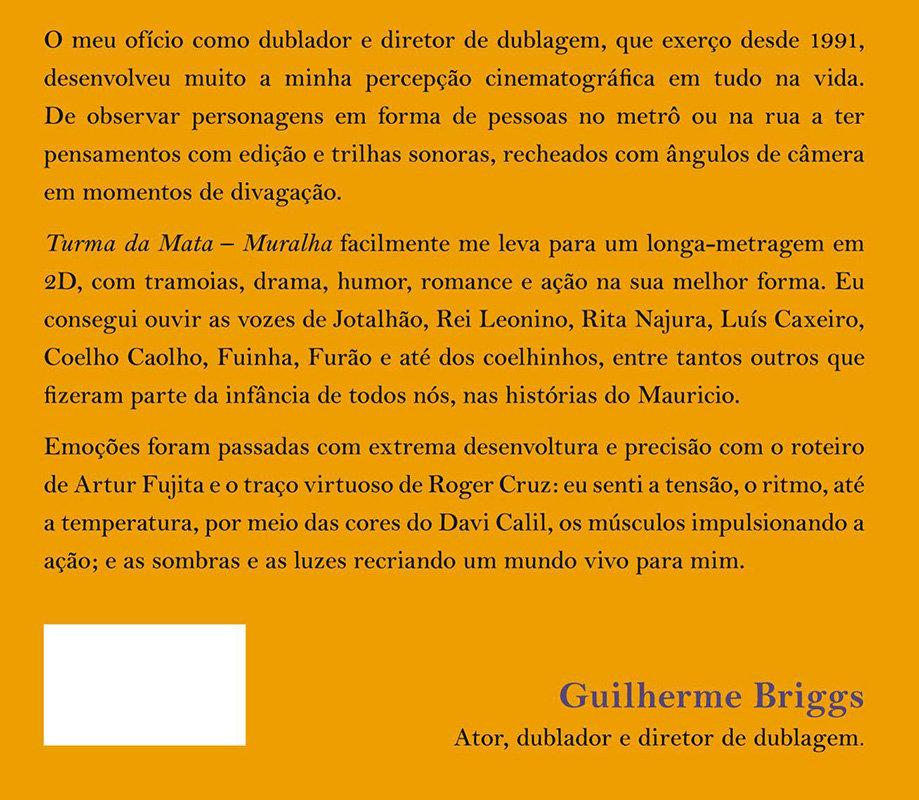 Texto de quarta página por Guilherme Briggs