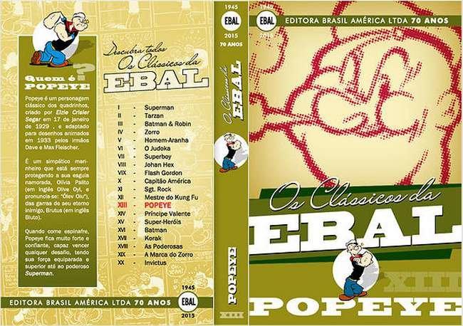 Os Clássicos da Ebal - Popeye