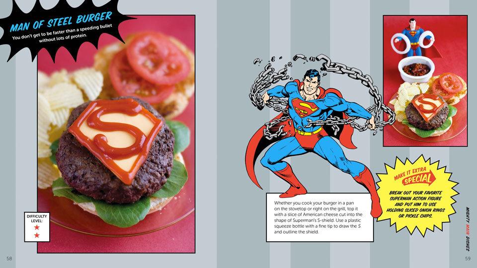 livro Official DC Comics Super Hero Cookbook pag 2