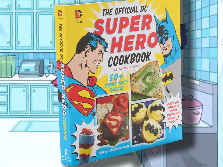 livro Official DC Comics Super Hero Cookbook
