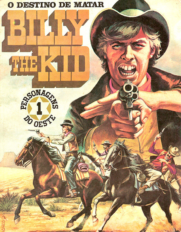Personagens do oeste - Billy The Kid
