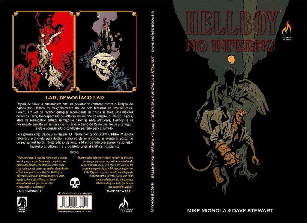 Hellboy no Inferno - Volume 1 - Descenso