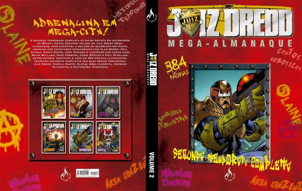 Juiz Dredd Mega-Alamanaque - Volume 2