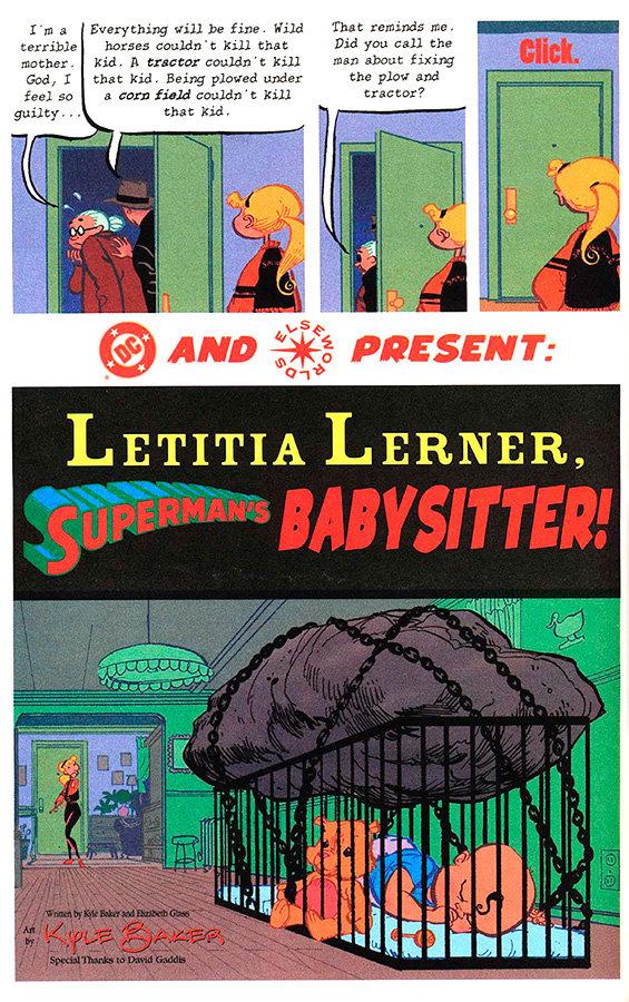 Letitia Lerner: Superman´s Babysitter