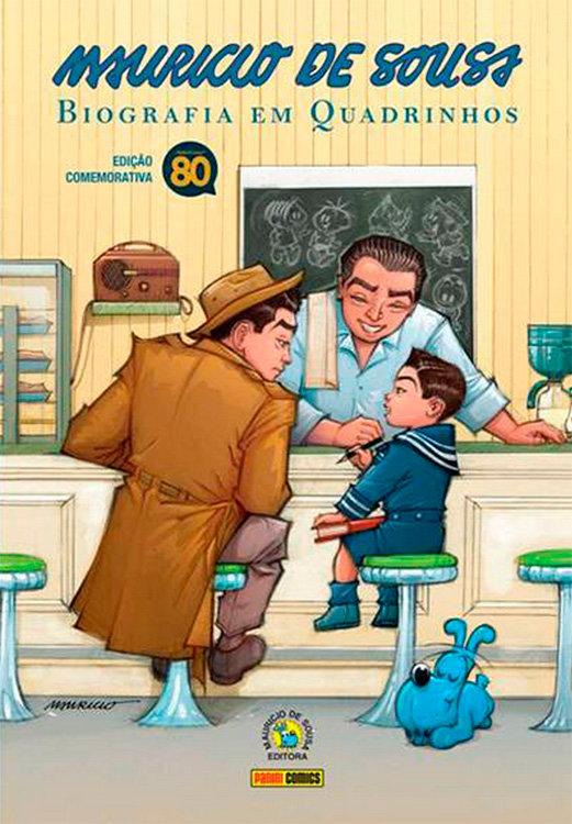 Mauricio de Sousa - Biografia em quadrinhos