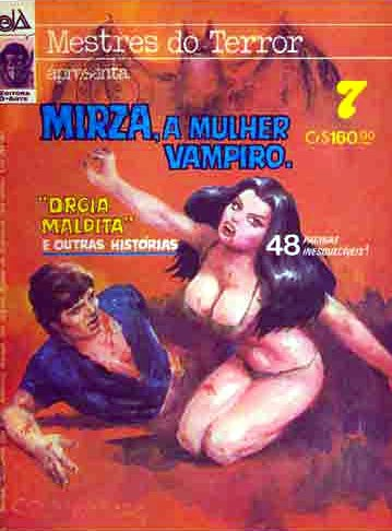 Mestres do Terror apresente - Mirza, a mulher vampiro