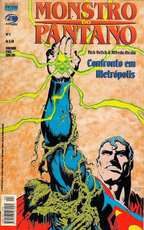 Monstro do Pântano - Confronto em Metrópolis