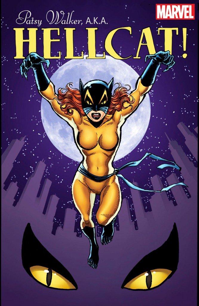 Patsy Walker A.K.A. Hellcat! # 1, capa alternativa