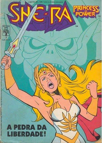 Revista em quadrinhos da She-Ra
