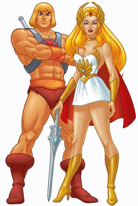 He-Man e She-Ra
