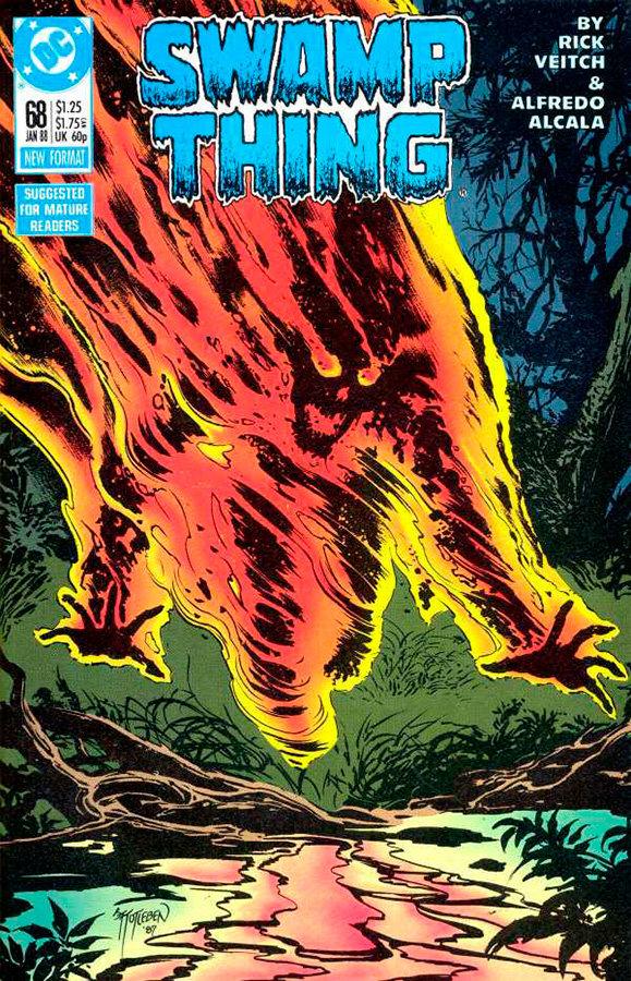 Swamp Thing # 68