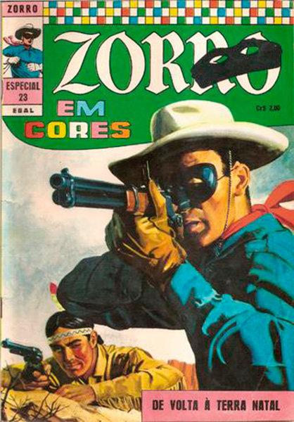 Zorro Especial # 23 - Na verdade, era o Cavaleiro Solitário