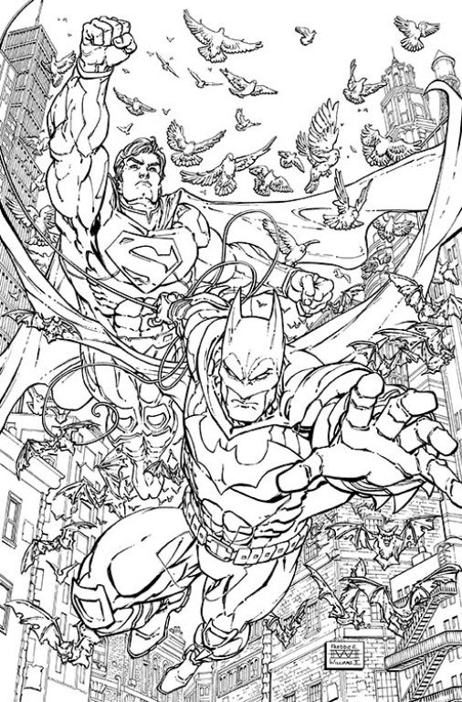 dc comics batman coloring pages - photo#15