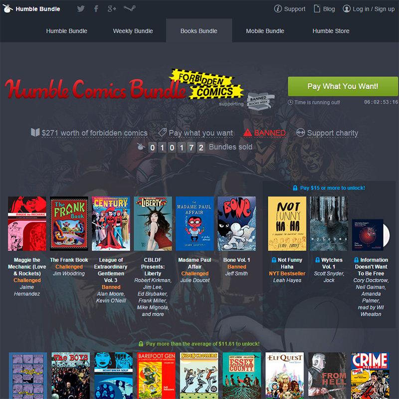 Humble Comics Bundle: Forbidden Comics