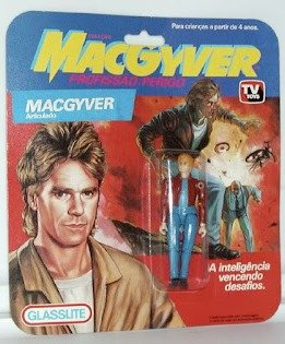 Action figure do MacGyver