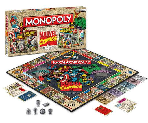 Monopoly baseado em personagens da Marvel