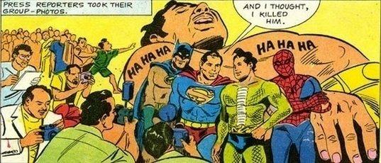 Crossover de Nagraj com super-heróis