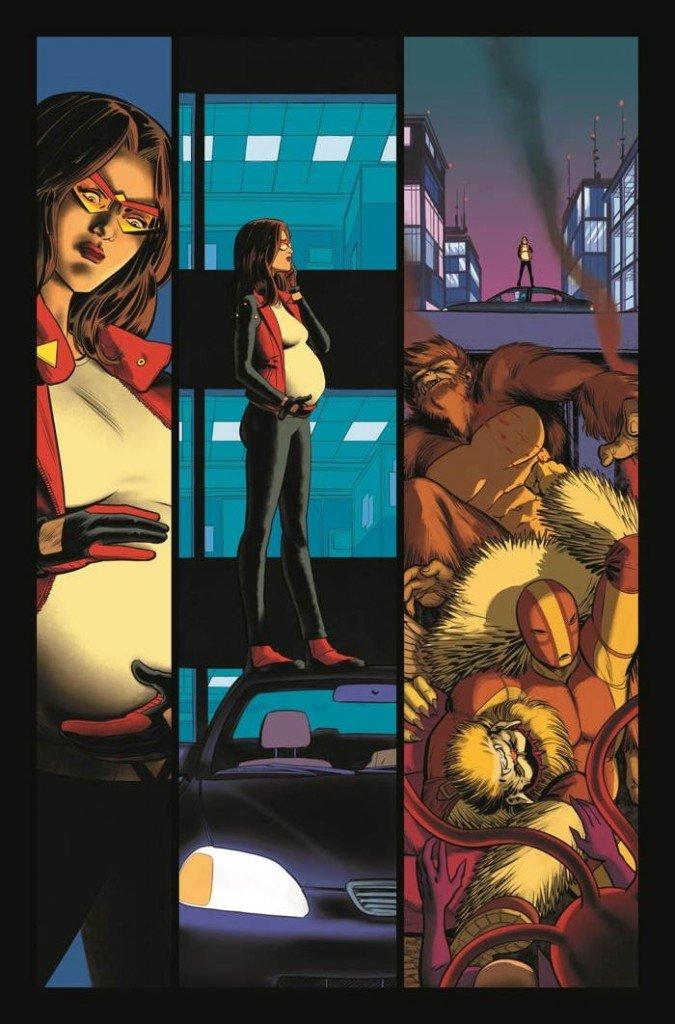 Página de Spider-Woman # 1