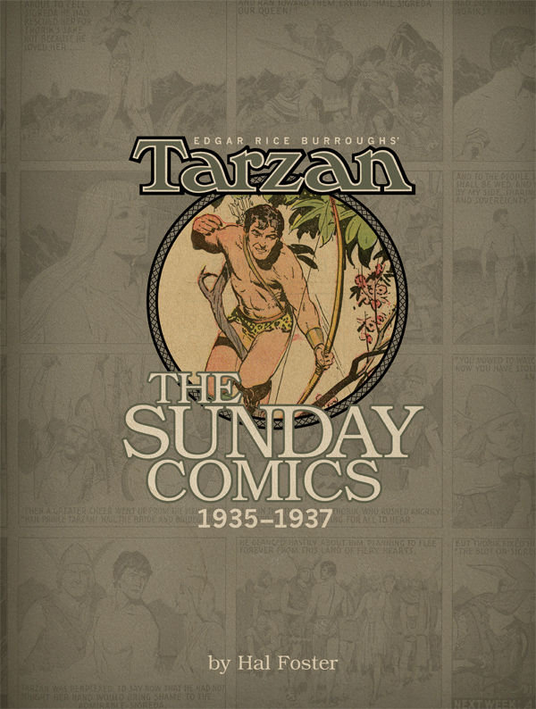 Tarzan - The Sunday Comics 1935-1937