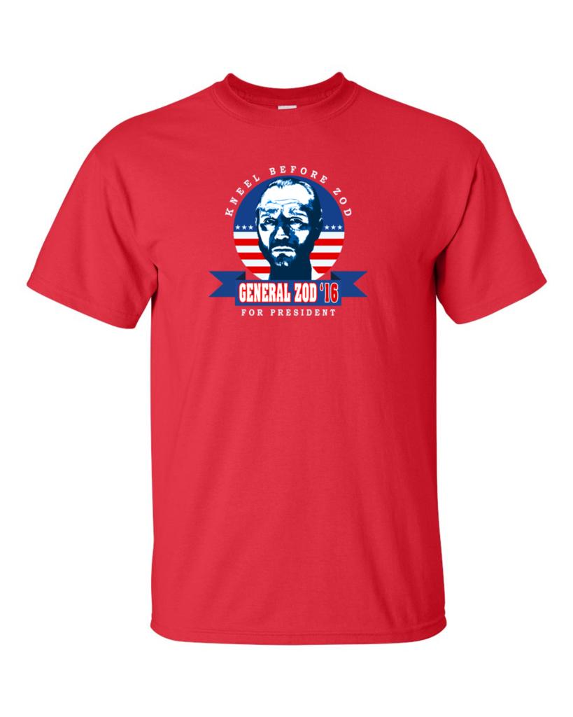 Zod camiseta