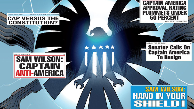 Captain America # 1