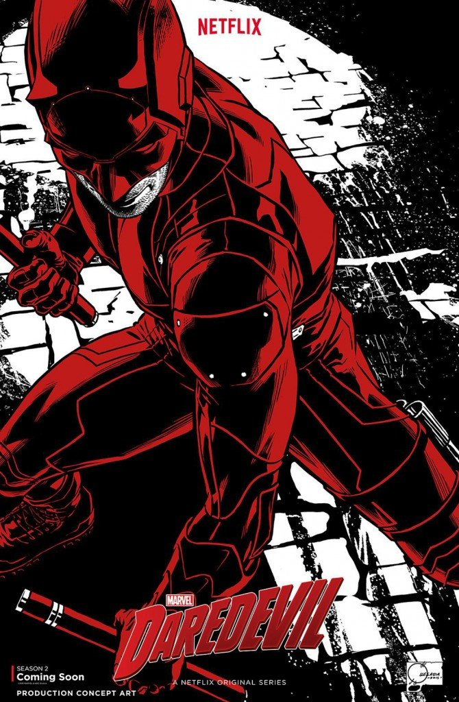 Cartaz de Daredevil, de Joe Quesada