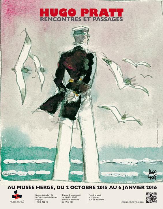 Cartaz de Hugo Pratt - Rencontres et passages