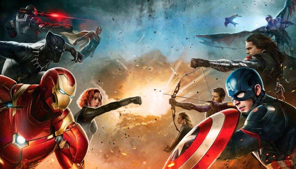 Capitão América 3 - Guerra Civil