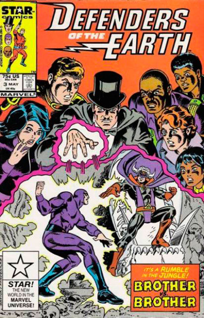 Quadrinhos dos Defensores da Terra