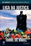 DC Comics Coleção de Graphic Novels # 4 - Liga da Justiça - Torre de Babel