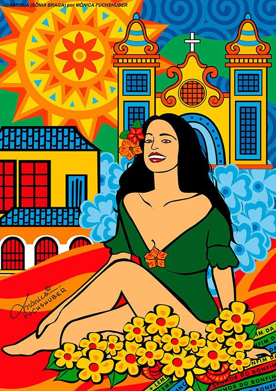 Gabriela, por Monica Fuchs