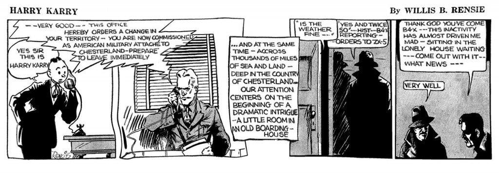 Harry Karry, por Will Eisner