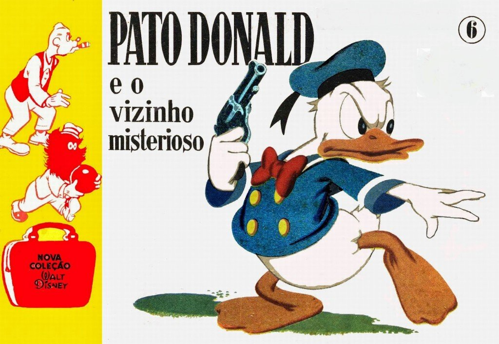 Nova Coleção Disney # 6 - Pato Donald e o vizinho misterioso
