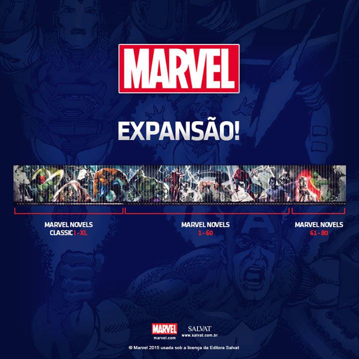 Expansão da Coleção Oficial de Graphic Novels da Marvel