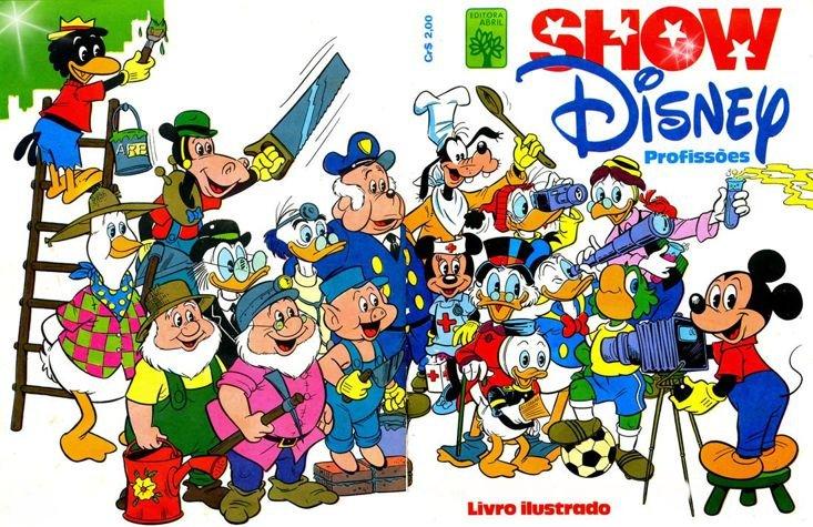 Álbum Show Disney - Profissões