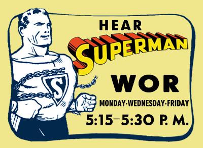 Programa de rádio do Superman